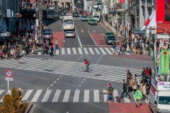 Перекресток Шибуя в Токио