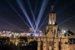 Римско-католический костел и фестиваль электронной музыки в Ташкенте